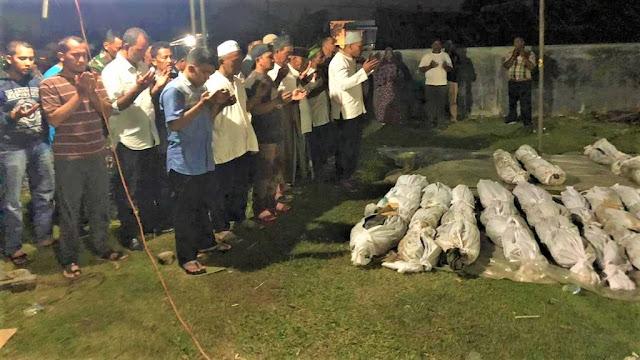 4 Jenazah di Kuburan Massal Proyek Perumahan Aceh Teridentifikasi