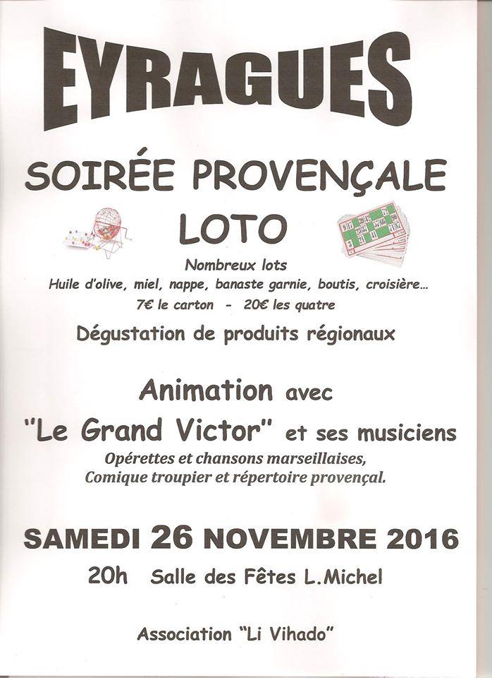 Le journal d 39 eyragues loto proven al - Le provencal journal ...