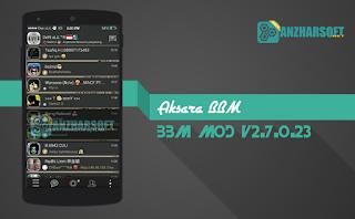 Aksara BBM - BBM Mod Android dengan Tampilan Keren