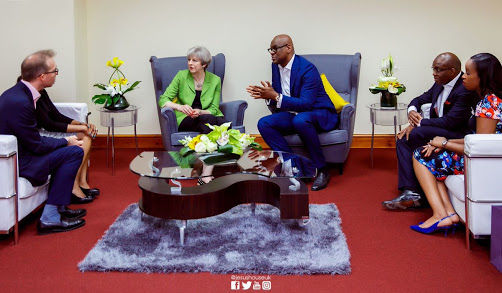 unnamed%2B%252824%2529 - UK Prime Minister, Theresa May Worships at Redeemed Church In London (Photos)
