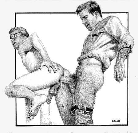 black gay porn comics