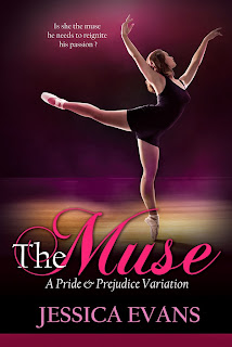 Book cover: The Muse by Jessica Evans