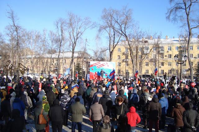 "28.01. Митинг в поддержку ""Забастовки избирателей"" в Самаре"