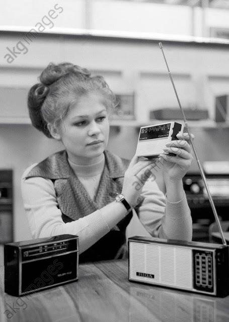 1970-е годы. Радиоприемники рижского производства завода им А.С. Попова: Selga, Orbita-2, Riga