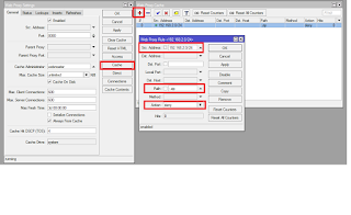 Pembahasan Lengkap Fungsi Web Proxy Internal Mikrotik