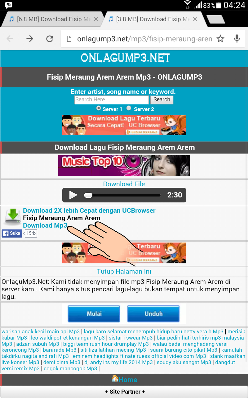 Download Lagu Meraung : download, meraung, Download, Smartphone, Android, Indonesia