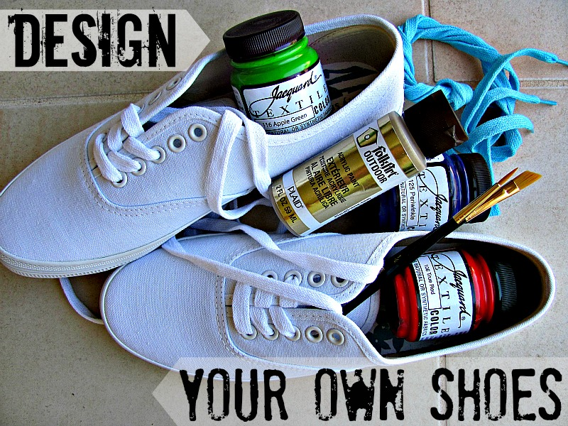 Prim and Propah: DIY: Design Your Own Shoes on the Cheap