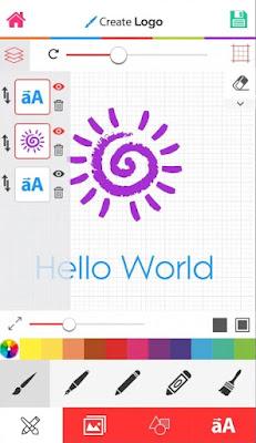 download aplikasi pembuat logo terbaru gratis Quick Logo Design +