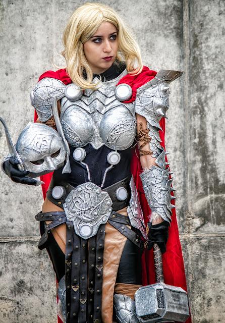 Thor Cosplay Ladydevilrose Marvel Avenger