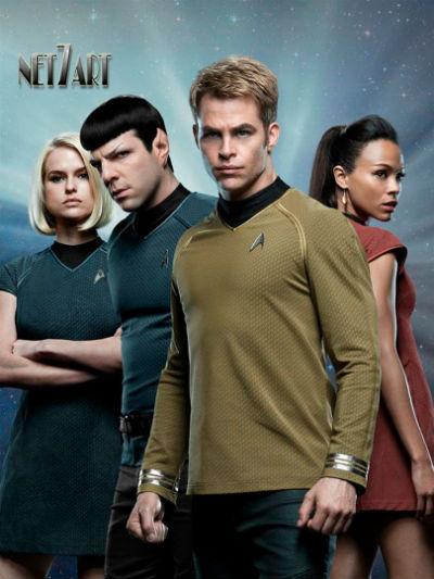 Star Trek: Sem Fronteiras 2016 Poster Cartaz