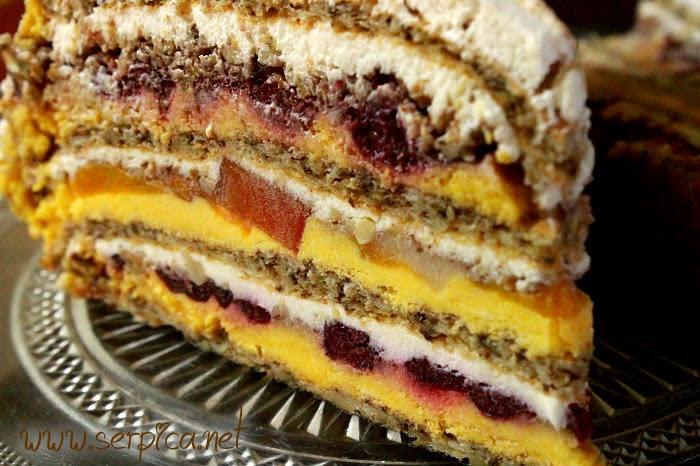Moskva šnite torta