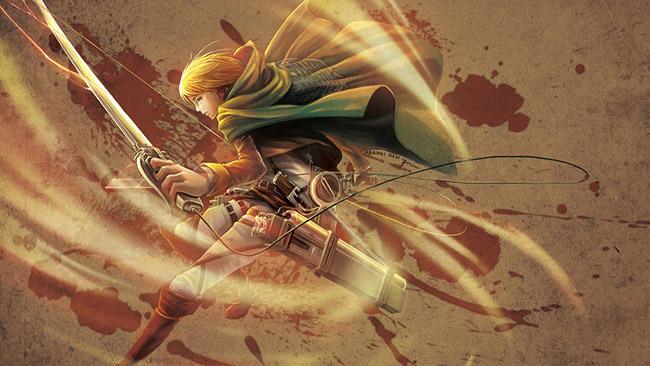 Haruhi Hsin (Malaysia) - Attack on Titan