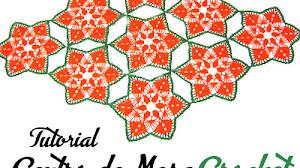 Centro de Mesa de Navidad a Crochet / Tutorial