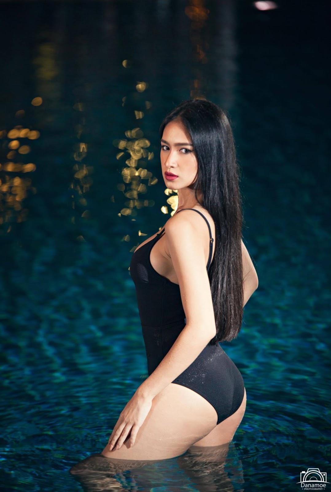 Miss Grand Myanmar 2017 : Shwe Eain Si Swim Suit Fashion Photoshoot