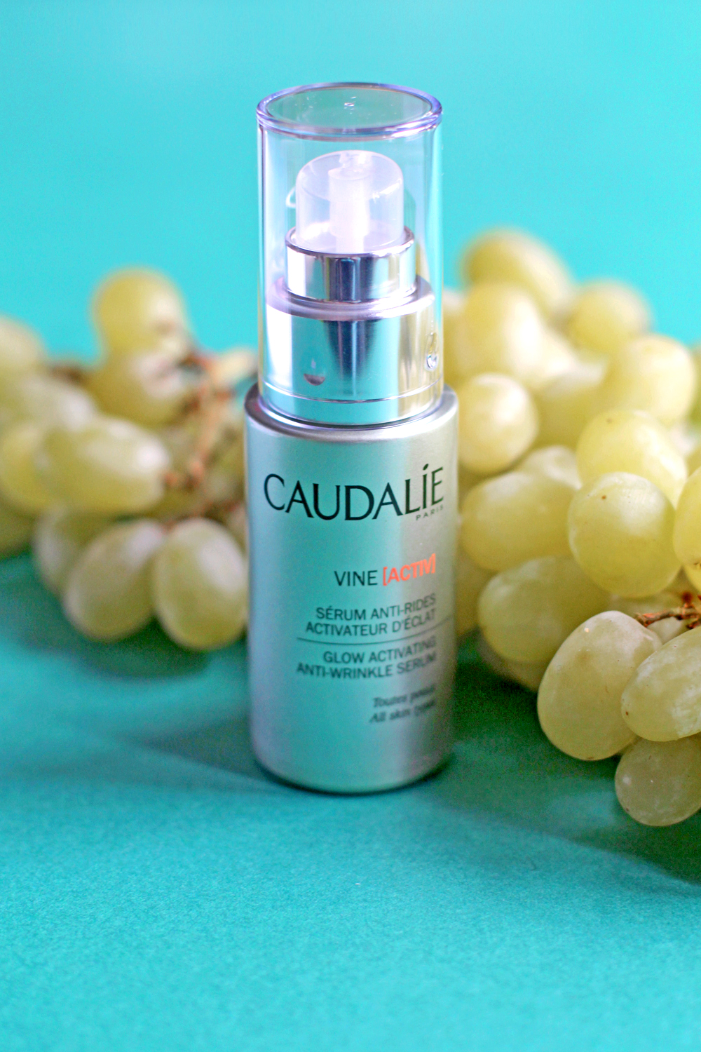 Caudalie VineActive Glow Activating Anti-Wrinkle Serum - UK beauty blog