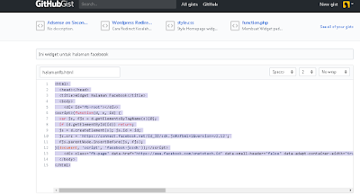 Cara Hosting File di Rawgit untuk Blogspot