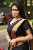 Poorna in Cute Backless Choli Saree Stunning Beauty at Avantika Movie platinum Disc Function ~  Exclusive 083.JPG
