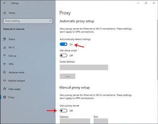 Tidak dapat terhubung ke server proxy mengatakan Microsoft Edge pada Windows 10