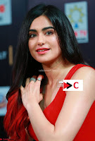 Adah Sharma in Red Deep Neck Spicy Gown ~  Exclusive 34.jpg