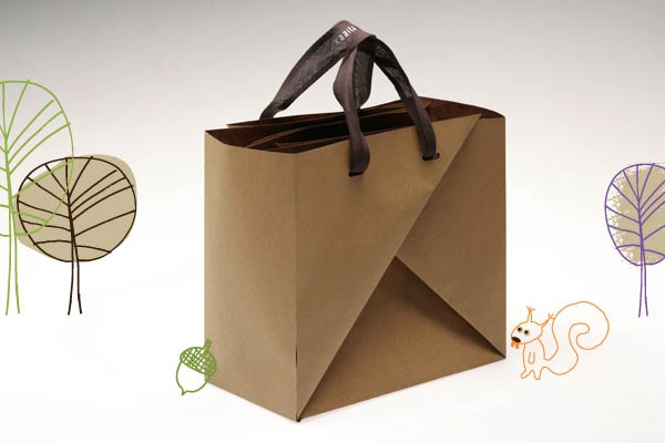 How to make a traditional origami bag: page 1 | 400x600