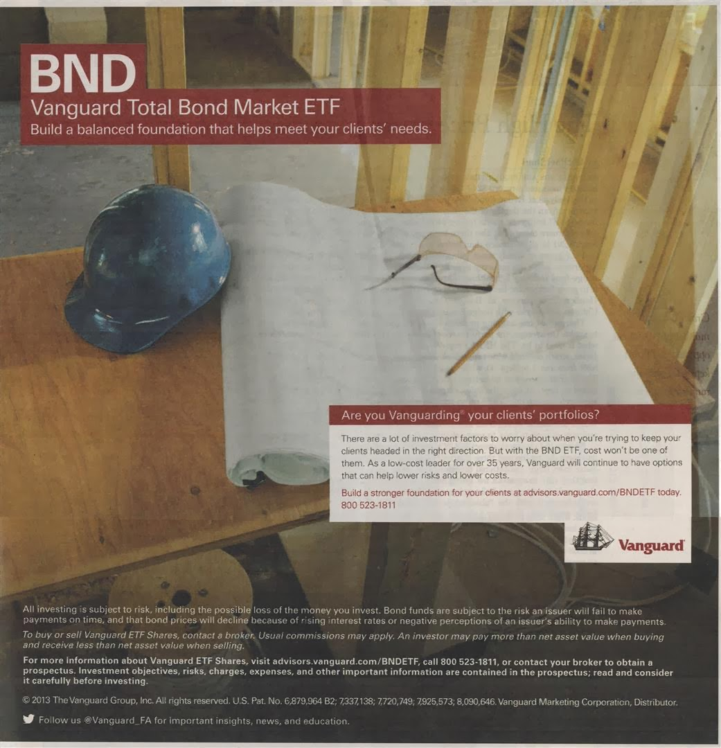 Ad of Vanguard Total Bond Market ETF (BND) | MEPB Financial