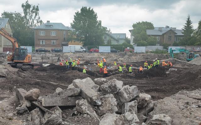 Building site in Estonia's Talin continues to yield medieval treasures