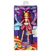 MLP Sunset Shimmer Equestria Girls Friendship Games School Spirit Doll