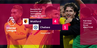 Watford vs Chelsea 4-1 Video Gol & Highlights