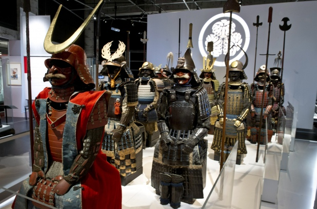 Swords, helmets and armour all feature at Montreal samurai exhibit