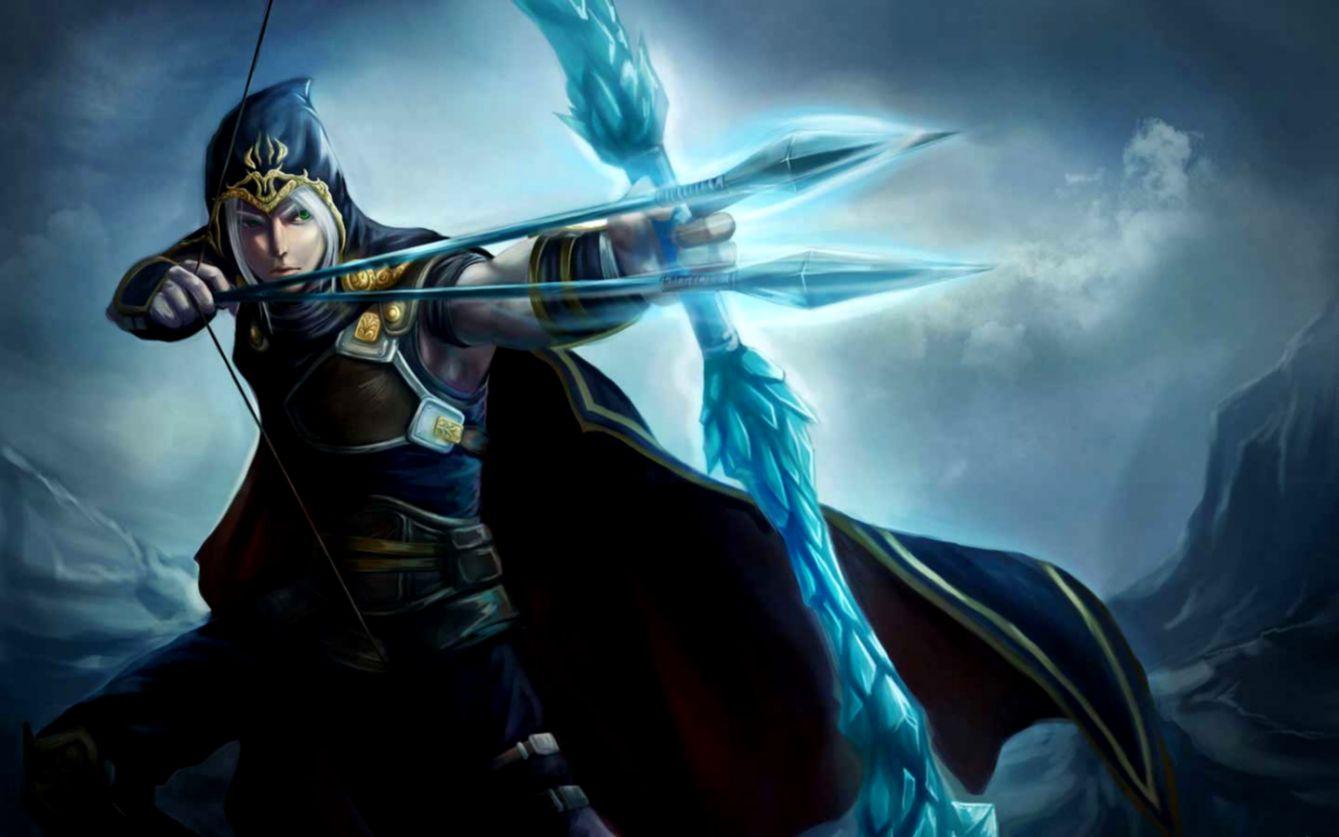 League Of Legends Male Ashe Fanart Barong Wallpapers