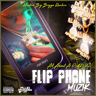 Pure Profit, All About Profit Vol.2, Flip Phone Muzik, Hosted by Bigga Rankin, New Music Alert, Hip Hop Everything, Team Bigga Rankin, The Promo Vatican, Plug Brothers,