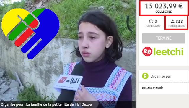 Kabylie : Le peuple se mobilise pour offrir un toit à la petite fille et sa famille