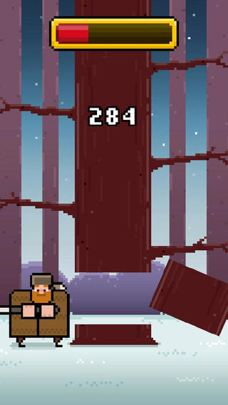 lenhador do timberman