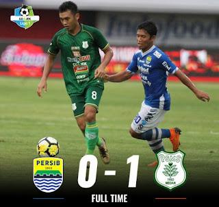 Persib Kalah 0-1 dari PSMS Medan, Peluang Juara Kian Berat
