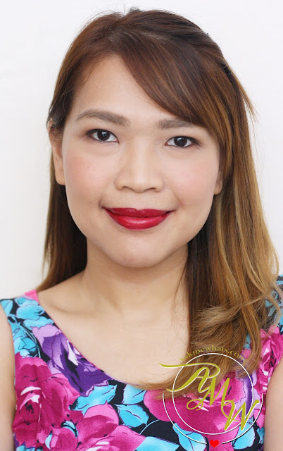 a photo of Cathy Doll Geisha Hanazakari Lip Matte Wine Orchid
