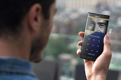 Samsung Galaxy Note 7 with Iris Scanner