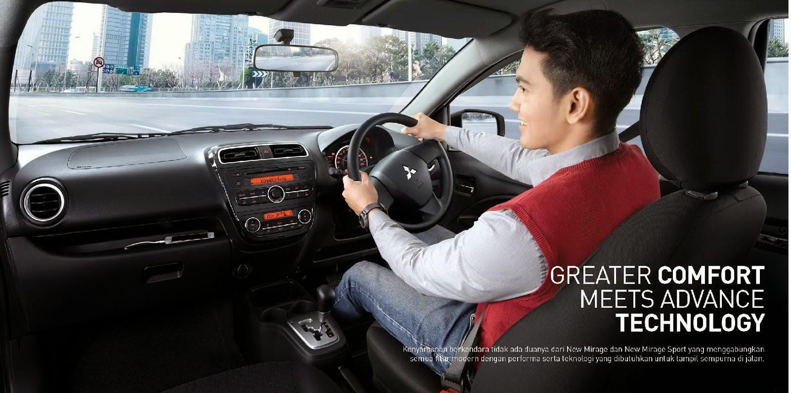 Brosur Mobil Mitsubishi New Mirage Sport 2015