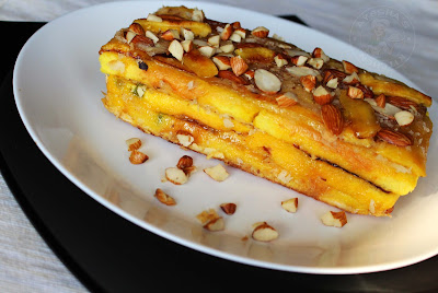 yummy kerala recipe athishayapathiri with bread a layered bread and plantain sweet yummy snack recipe tasty snack for a crowd appetizers ayeshas kitchen snacks recipes