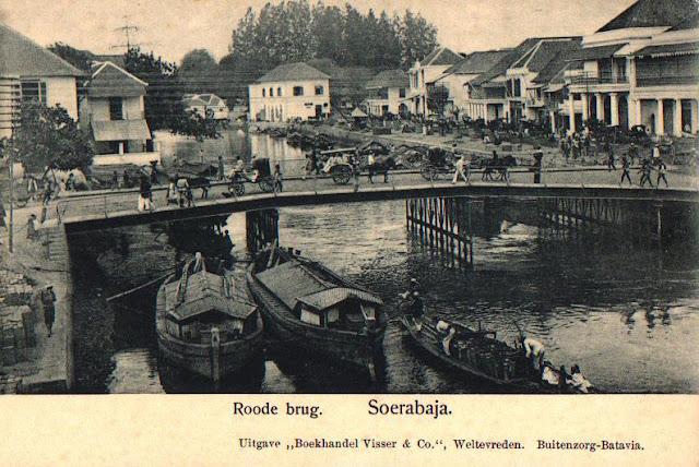 Jembatan Ancol tempo dulu yang masih ramai