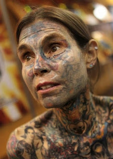 most-tattooed woman