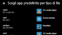 Cambiare Programma per aprire un file in Windows