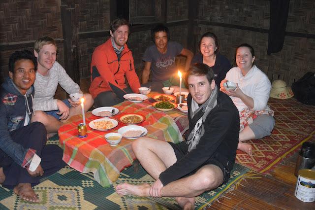 Diner dans un village, chez l'habitant