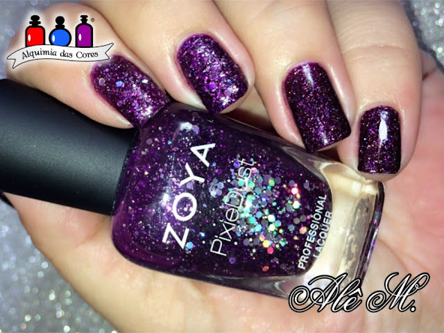 Zoya, Zoya Holiday 2013 Zenith Collection, Zoya Holiday 2014 Wishes Collection, Thea, Payton, magical pixie dust , Moyra Stamping Polish, Silver, HK-09, Alê M., Purple Jelly, scattered holographic effect