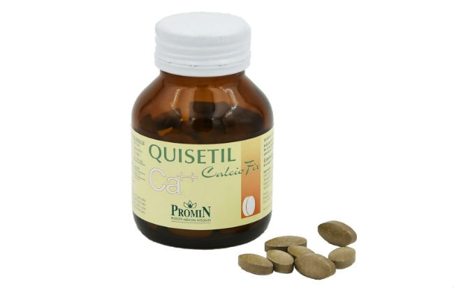 Quisetil Calciofix e Quisedol Promin