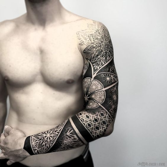 Latest Sleeve Tattoo For Men