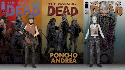 The Walking Dead Poncho Andrea Grimes Action Figure by Skybound x McFarlane Toys