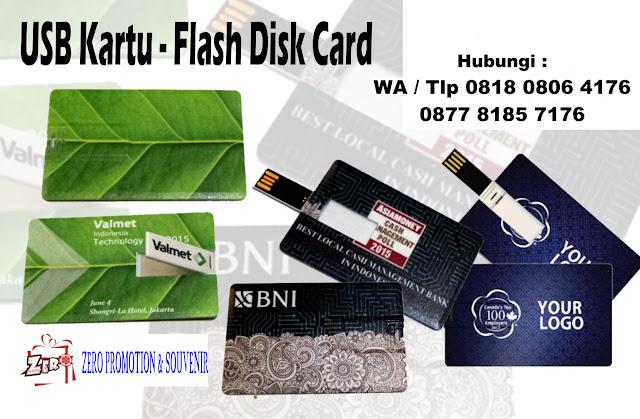 Jual USB Kartu - Flash Disk Card - Barang Promosi