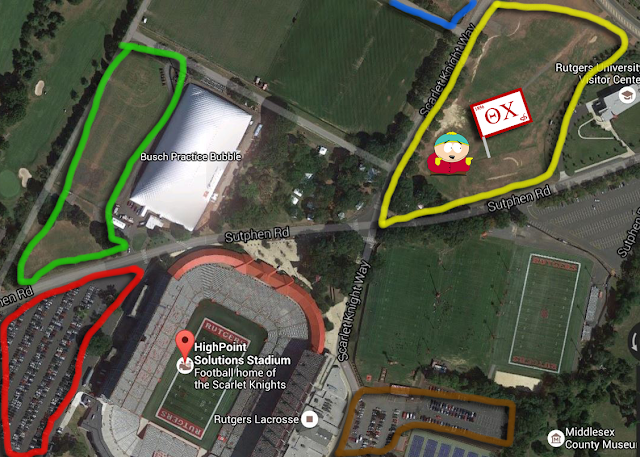 Image result for rutgers yellow lot