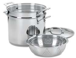 Cuisinart 77-412 Chef's Stainless Pasta/Steamer Set