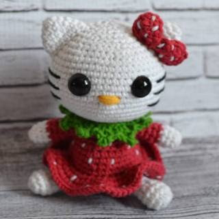 PATRON HELLO KITTY AMIGURUMI 27697